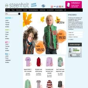 Dametøj, herretøj, børnetøj fra Steenholt.com - Tøj til hele familien