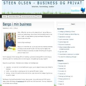 Business og Internet - SteenOlsen.dk