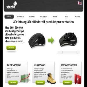 Stepfo.dk - 3D-visninger til din hjemmeside.