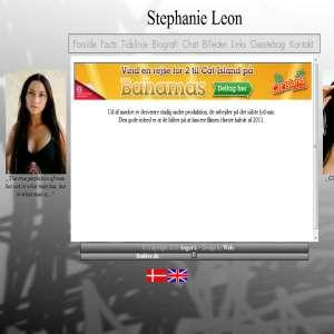 Stephanie Leons fanside