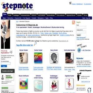 Stepnote.dk - Noder og Musikundervisning