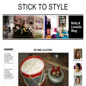 Bolig og livsstils blog - Stick To Style - Boligindretning