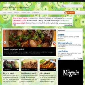 Stjerneskud: Online kogebog med de bedste opskrifter