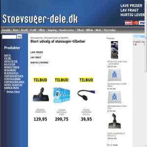 Støvsugertilbehør - stoevsuger-dele.dk