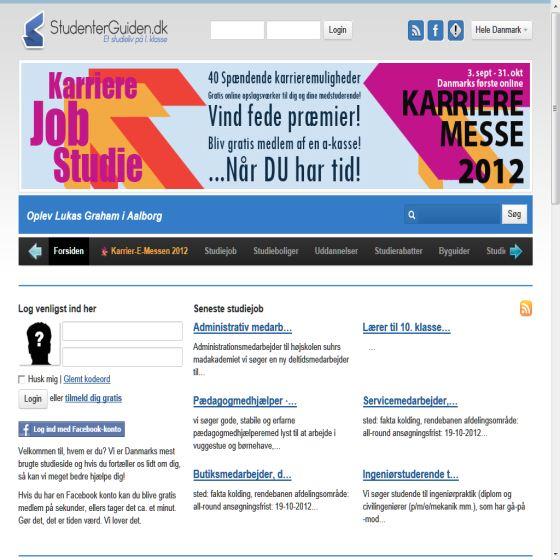 StudenterGuiden.dk - For unge & studerende