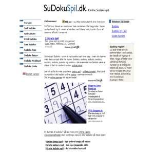 SudokuSpil.dk