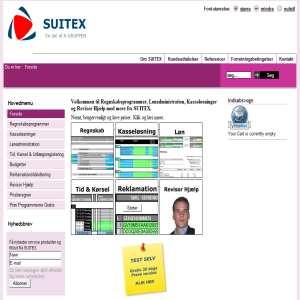 Regnskabsprogrammer - SUITEX