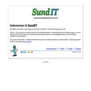 SundIT - professionel og uafhængig sundheds-it