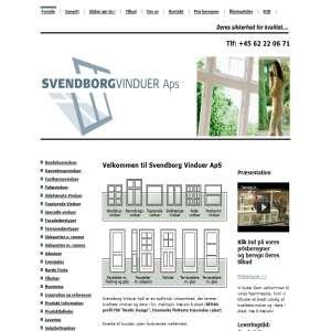 Svendborg Vinduer ApS - Vinduer og døre i plast