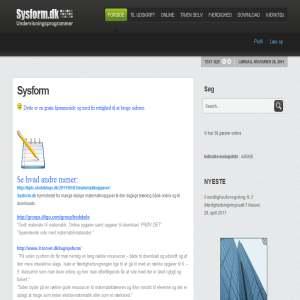 Sysform - matematik