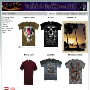 T-shirt Butikken