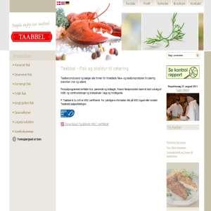 P. Taabbel & Co. A/S, salg af FISK og SKALDYR