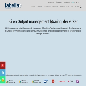 Tabellae - Output Management