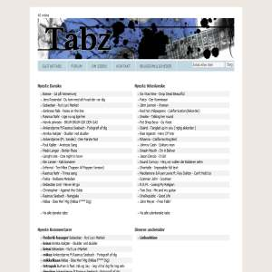 tabz.dk - Guitartabs