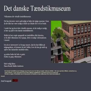 Tændstikmuseum med den danske tændstikhistorie