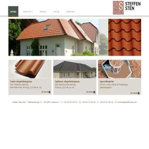 Tagsten mursten belægningsklinker - Steffen Sten