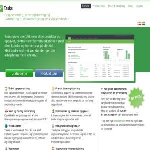 Webbaseret opgavestyring, timeregistrering, fakturering og mere