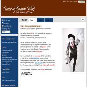 Teater og drama wiki