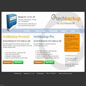 techBackup - online backup