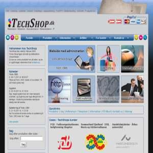 TechShop - Webdesign, CMS, webshop mv.