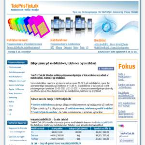 TelePrisTjek - Tjek dit mobilabonnement