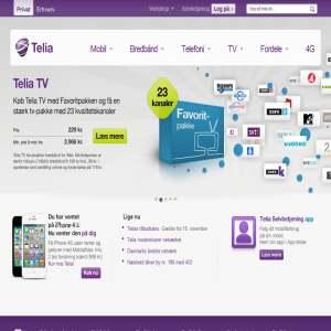 Få Danmarks billigste bredbånd, telefoni og tv hos Telia. Kun 299 kr./md.