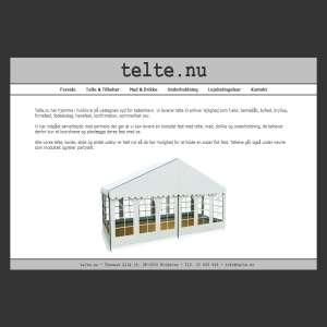 Telte.nu - Udlejning af telte og festartikler