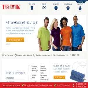 Tex-tryk A/S Textiltryk og broderi