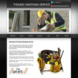 Thomas Handyman Service - Havemand København