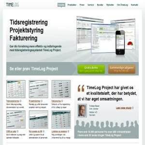 TimeLog - Software til tidsregistrering, projektstyring, fakturering