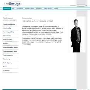 Timeselectas - Rekruttering