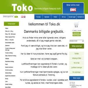 Toko.dk - Danmarks billigste fiskegrej