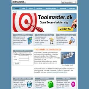 Toolmaster.dk - CMS og udvikling