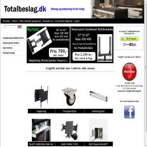 Totalbeslag - Beslag & Belysning til din bolig