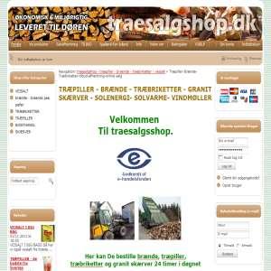 Træ salg shop