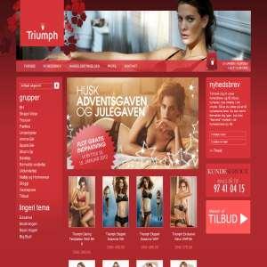 Triumph Undertøj, Salg af lingeri, badetøj og nattøj