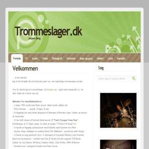 Trommeslager Jesper Berg