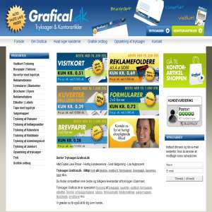 Tryksager fra Grafical.dk