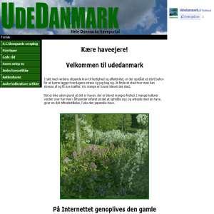 UdeDanmark - Hele Danmarks haveportal