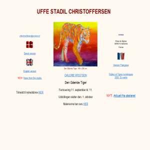 Uffe Christoffersen. Dansk Hjemmeside
