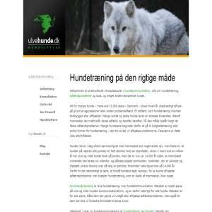 Dansk hundelytter - ulvehunde.dk