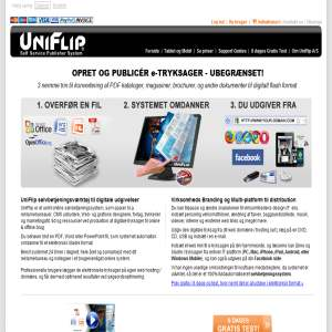 Online flash katalog - Uniflip