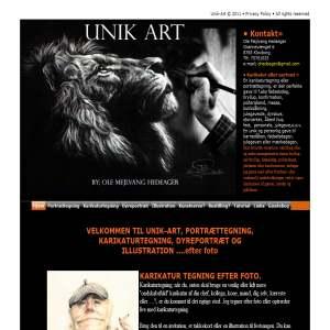 Unik Art portrætter og karikatur