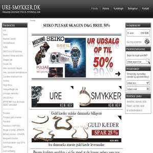 Ure & Smykker webshop