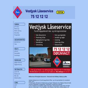 Låsesmed - Vestjysk Låseservice
