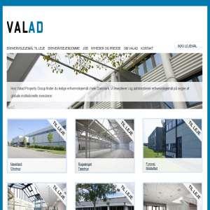 Valad Property Group - Erhvervslokaler til leje