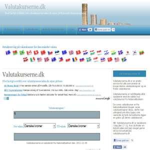 Valutakurserne.dk - Valutaberegner