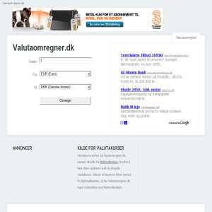 Valutaomregner.dk