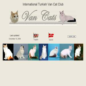 International Turkish Van Cat Club | ITVCC
