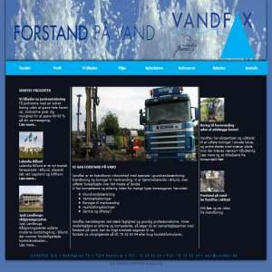 Vandfax - brøndboring & grundvandssænkning